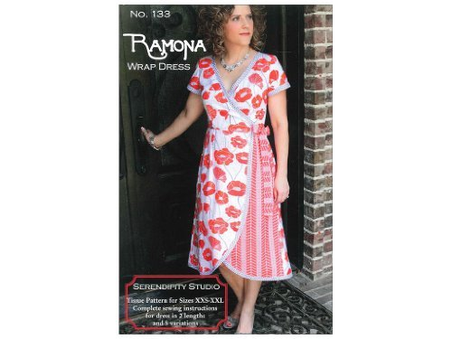(The Ramona Wrap Dress Pattern)