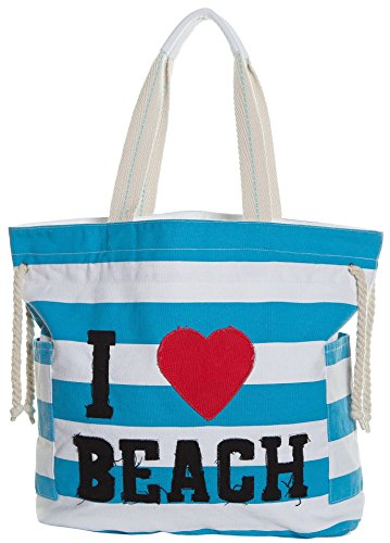 Beach Bags Waterproof Canvas Striped product image