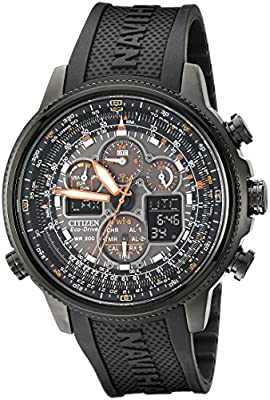 Citizen Men's Eco-Drive Navihawk Atomic Timekeeping Watch, JY8035-04E by Citizen