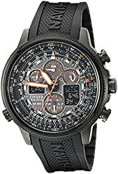 Citizen Men's JY8035-04E Navihawk Stainless Steel Eco-Drive Watch