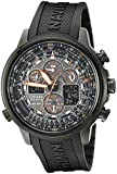 Image of Citizen Men's JY8035-04E Navihawk Stainless Steel Eco-Drive Watch