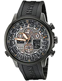 Citizen Men's JY8035-04E Navihawk A-T Eco-Drive Perpetual Chrono Strap Watch