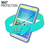 Samsung Galaxy Tab A 7.0 Case, Jeccy 3in1 Full-body Shock Proof Hybrid Heavy Duty Armor Defender Protective Case, Silicone Skin Hard Plastic Case for Samsung Tab A 7 (SM-T280 / SM-T285)