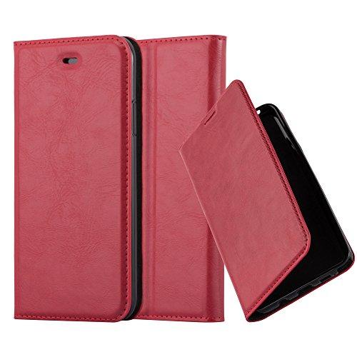Cadorabo - Funda Book Style Cuero Sintético en Diseño Libro para >                          Apple iPhone X                          <