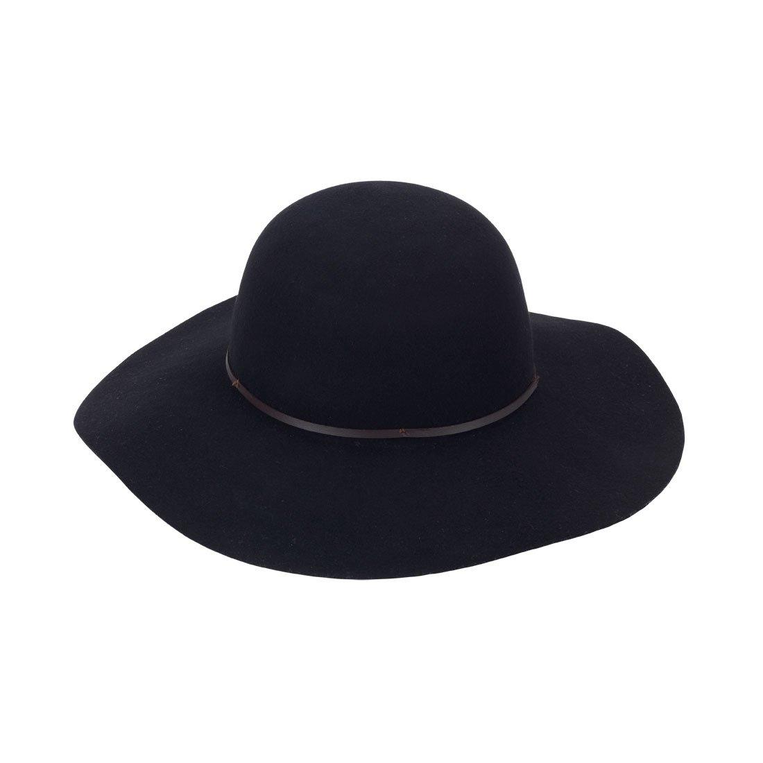 Amazon.com  Wholesale Boutique Wool Floppy Hat Black  Toys   Games 3a55f3ca355