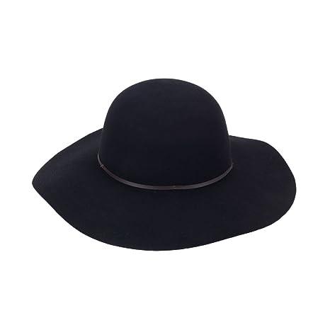 7d8d7880cb9ff Image Unavailable. Image not available for. Color  Wholesale Boutique Wool Floppy  Hat Black