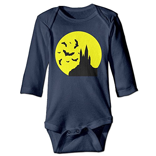 Halloween Castle Funny Toddler Baby Long Sleeve Babys' Rompers Climbing Clothes