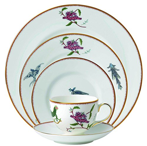 Wedgwood Mythical Creatures 5 Piece Place Setting, White by Wedgwood