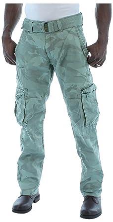 a8e53b1e1962 Jordan Craig Men s Fashion Camo Heavy Twill Belted Cargo Pants (30W X 30L