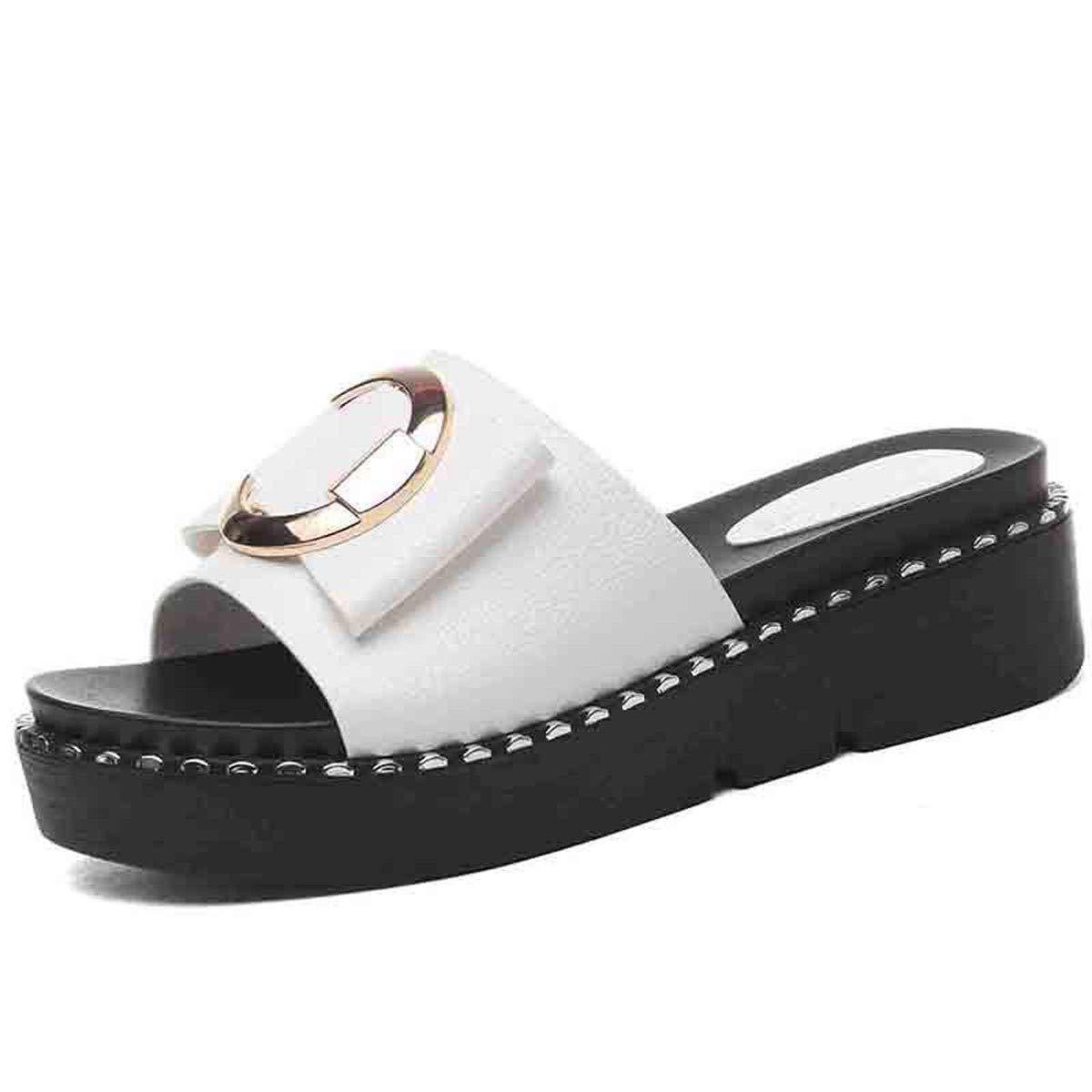 GTVERNH Frauen Schuhe/Frauen - Pantoffeln Sommer Mode Tragen