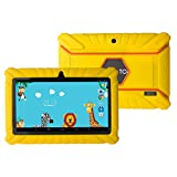 """7 inch tablet case chromo inc - 7 Inch Tablet Case, No1seller Rugged Defender Armor Shockproof Anti-Slip Kids' Soft Silicone Cover Case for Dragon Touch Y88X Plus/Y88X, Alldaymall A88S A88X, Chromo Inc 7""""&Select 7"""" Tablets"""