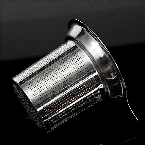 Mesh Tea Coffee Strainer Drain Infuser Tea Tea Filter Diffuser Intervals Filter Inner Cup 8.8x7.5cm
