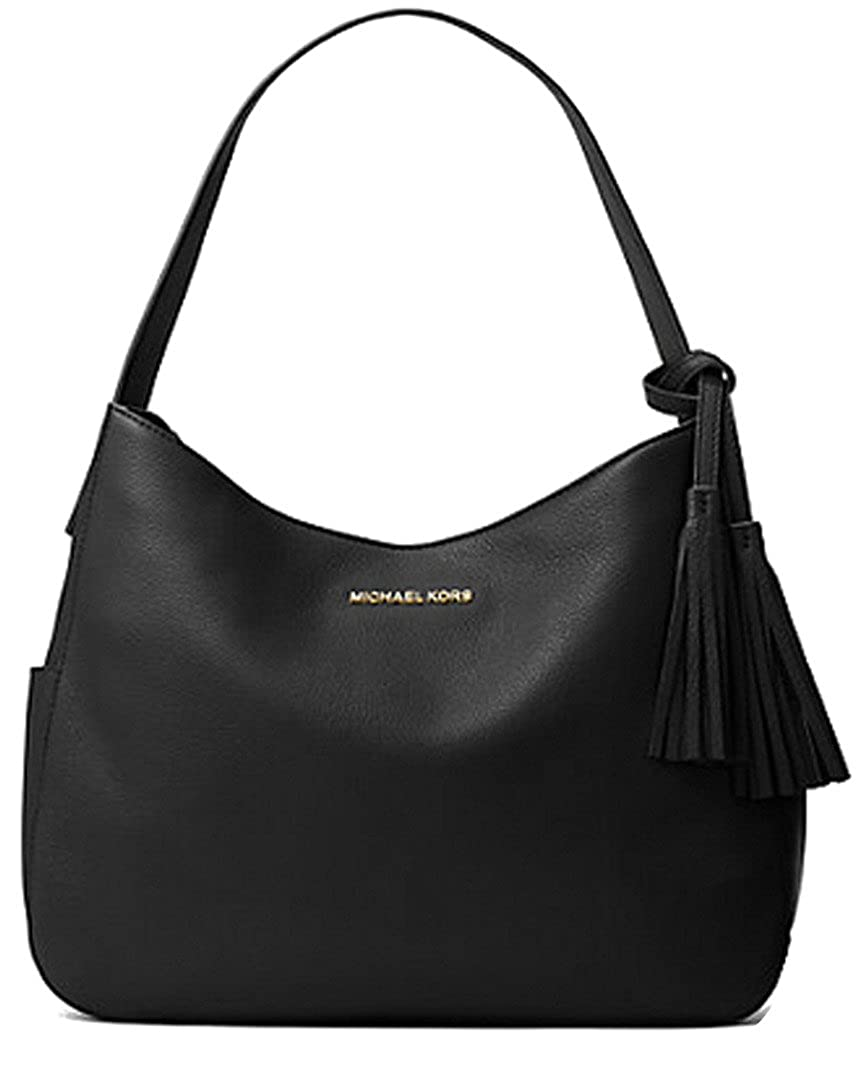 264e42ca3c6e Michael Kors Ashbury Large Leather Shoulder Bag  Handbags  Amazon.com