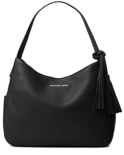 435bb829c0 Image Unavailable. Image not available for. Color  Michael Kors Ashbury  Large Leather Shoulder Bag