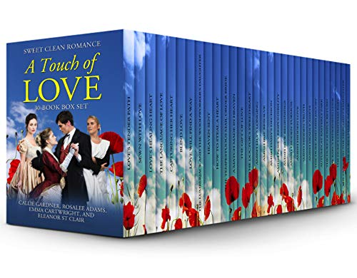 A Touch of Love: 30 Book Box Set of Sweet Clean Romance Stories: Mail Order Bride, Historical Romance, Western Romance, Regency Romance, Amish Romance, Inspirational Romance ()