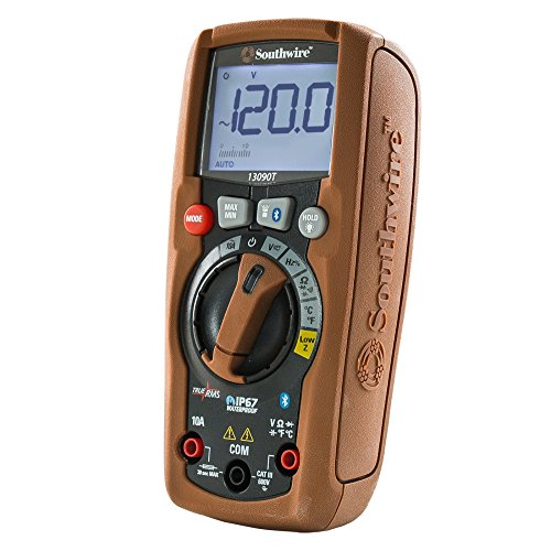 Southwire Tools & Equipment 13090T ResidentialPRO Auto-Ranging TrueRMS Digital Multimeter with MApp Mobile App