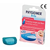 PHYSIOMER Baby Nasal Aspirator Protective Filters (20 single-use filters) No Bisphenol A No Phtalates CE Marked