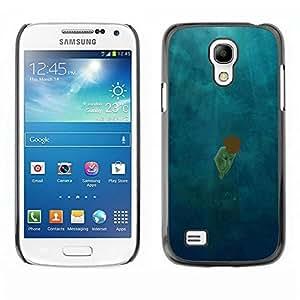 Be Good Phone Accessory // Dura Cáscara cubierta Protectora Caso Carcasa Funda de Protección para Samsung Galaxy S4 Mini i9190 MINI VERSION! // Scattered Light Diving Deep Girl