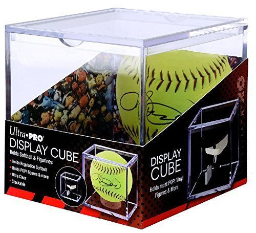 Softball Figure - Ultra Pro Softball Display Cube Holder fits most Vinyl Funko Pop! Figures