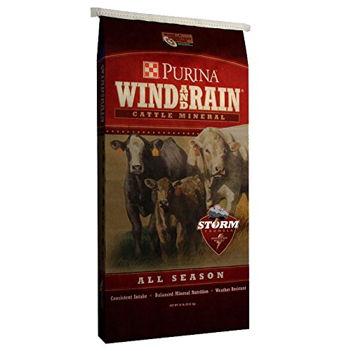 Purina Animal Nutrition Purina Wind and Rain Storm Texas All Season 7 5 Complete Cattle Mineral