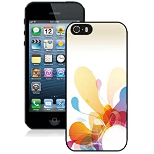 New Personalized Custom Designed For iPhone 5s Phone Case For Abstract Colorful Flourishes Phone Case Cover