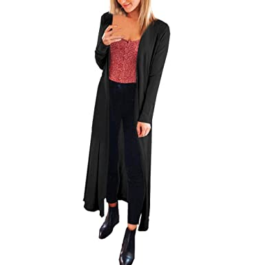 bc8fa4487c8e Woaills-Tops 2018 New!!Women Loose Cardigan,Ladies Casual Sexy Long Sleeve