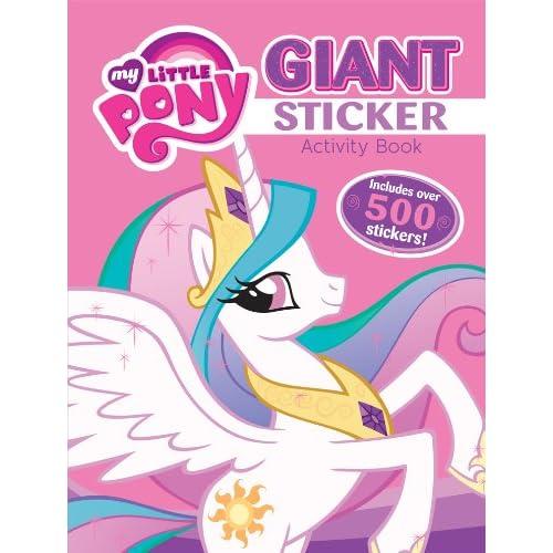 bendon my little pony giant sticker activity book