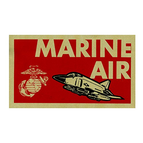 Marine Air Wing - USMC Marine Corps Air Aviation Aircraft Wing Bumber Sticker Decal