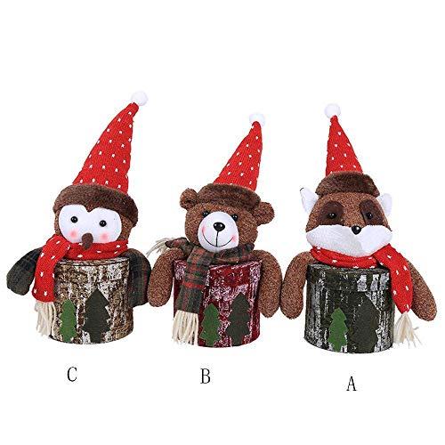Vieux Décorations Poilu Pot Rebours Noël Bonbons Fuxitoggo Compte Petit Pour Le À Calendrier De Stockage PHH7d6q