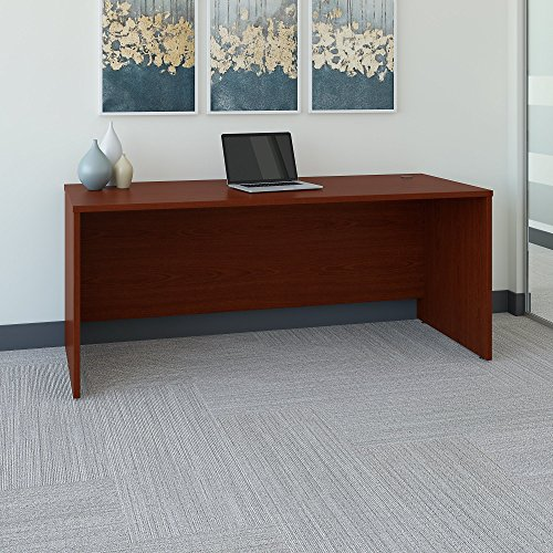 Series C 72W x 30D Office Desk in Mahogany
