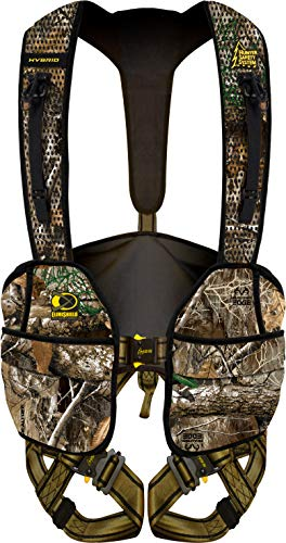 Hunter Safety System RT Hybrid Tree Stand Safety Harness with ElimiShield Scent Control Technology (New for 2019), Small/Medium (Best Climbing Tree Stand 2019)
