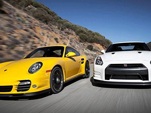 (Nissan GT-R Black Edition vs Porsche 911 Turbo S!)