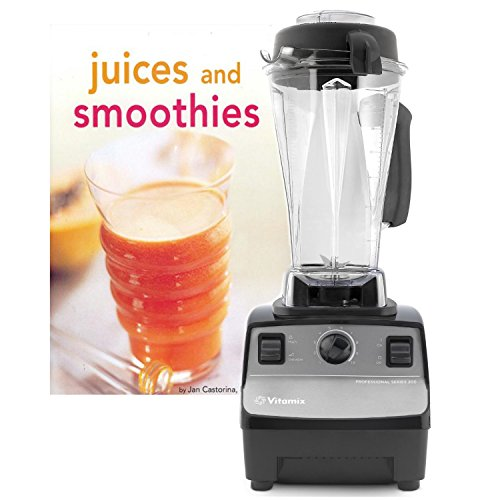 Vitamix Professional Series 200 Onyx Blender with Bonus Tuttle Juices and Smoothies Cookbook (Vitamix Professional 200)