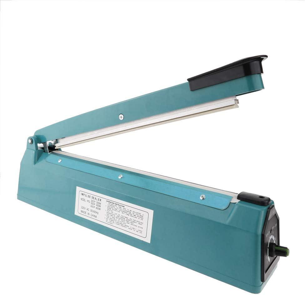 PrimeMatik - Selladora térmica de 40 cm para Bolsas de plástico