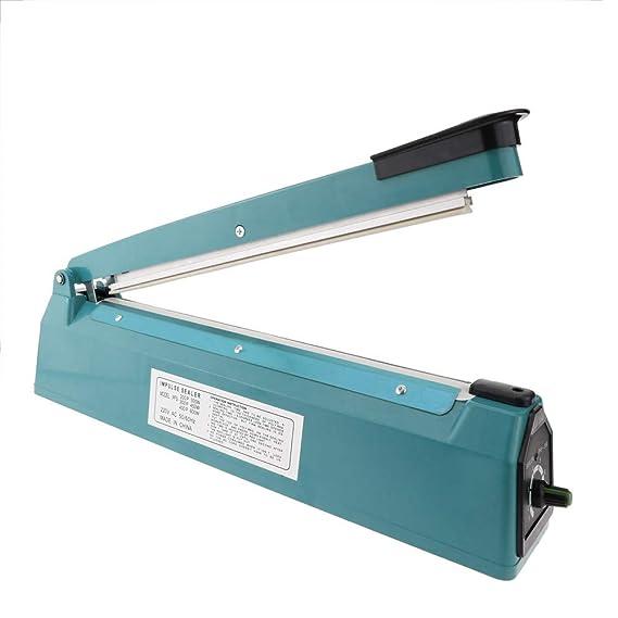 Cablematic - Selladora térmica de 40cm para bolsas de plástico: Amazon.es: Electrónica