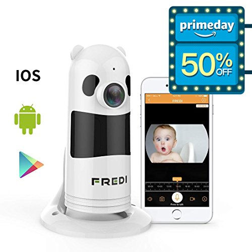 ireless WIFI IP Surveillance Camera 1080P HD Security Wireless Camera With Two-Way Talking,Infrared Night Vision,P2P Wps Ir-Cut Security Camera Motion Detection Loop recording ()