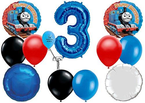 Thomas The Train 3rd Birthday Balloon Pack]()