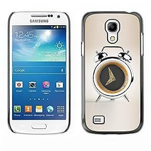 NADIA DAOJIE CASE Slim PC / Aluminium Sleek Case Cover Armor Shell   Coffee Alarm Funny   Samsung Galaxy S4 i9500