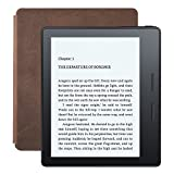Amazon Kindle Oasis reader + Leather Cover Walnut 6