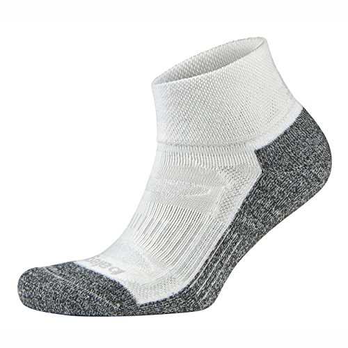 Balega Blister Resist Quarter Socks For Men and Women (1-Pair) (2017 Model), White, X-Large