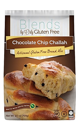 "Blends by Orly ""Gluten Free"" Chocolate Chip Challah Artisanal Bread mix"