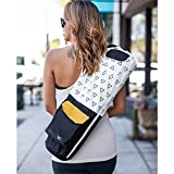 Eco Friendly Yoga Mat Bag / Organic Yoga Bag / Black Yoga Mat Carrier Tote: Full Zip, Adjustable Carry, GOTS 100% Cotton Canvas, Fair Trade Certified Environmental, with Pockets; for Men & Women Review