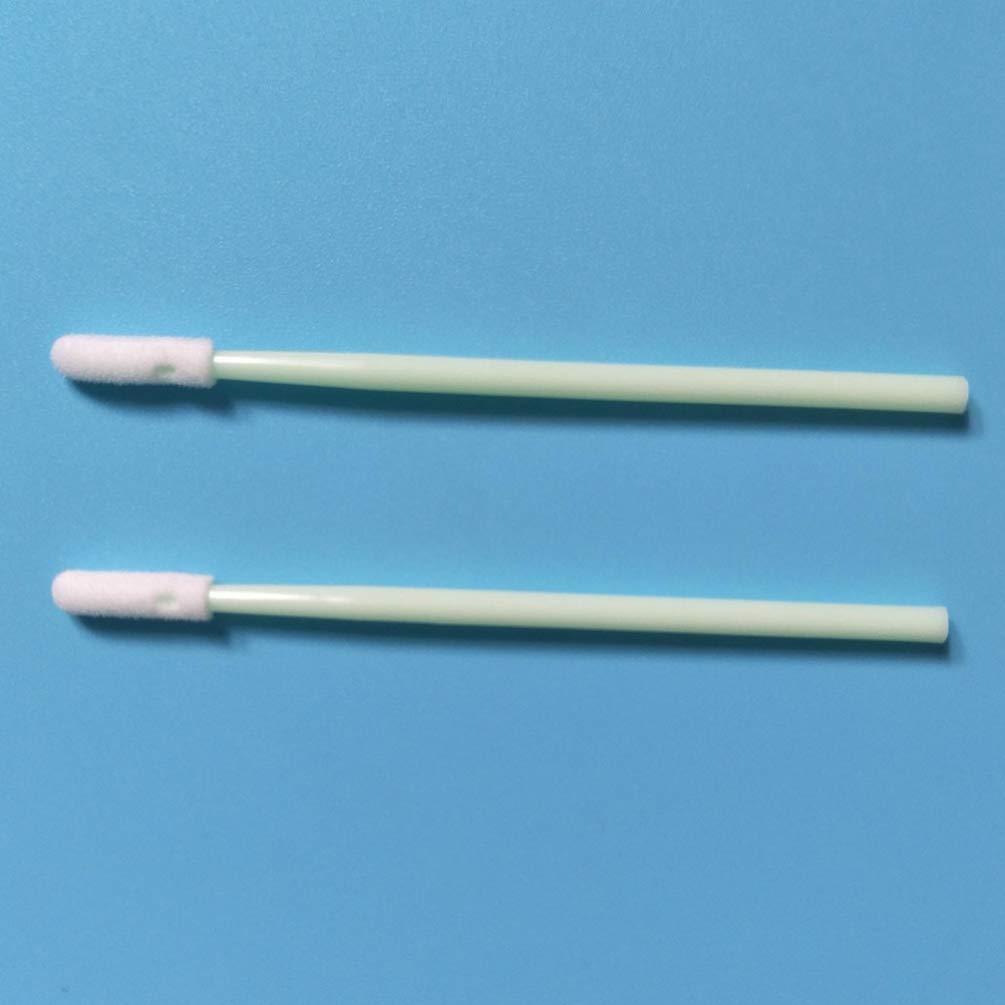 Supvox 100pcs hisopos de limpieza de punta de esponja de espuma palos para lente /óptico de la c/ámara y del autom/óvil que detalla