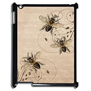 Best Phone case At MengHaiXin Store Honey Bee Art Design Pattern 311 For Ipad 2/3/4 Case