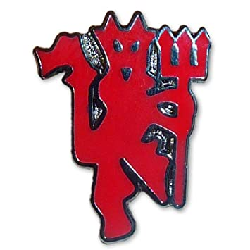 c3769de99cd7 Image Unavailable. Image not available for. Colour: Manchester United Red  Devil Pin Badge