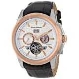 Tommy Bahama Swiss Men's TB1247 Cabo White Dial Automatic Skeleton Dial Strap Watch