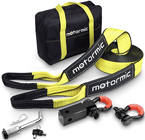 Complete Set Tow Strap Recovery Kit - 3