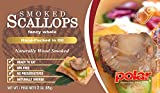 MW Polar Smoked Scallops in Oil, 3-Ounce Units (Pack of 24)