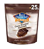 #9: Blue Diamond Oven Roasted Cocoa Almonds, Dark Chocolate Flavor, 25 Ounce