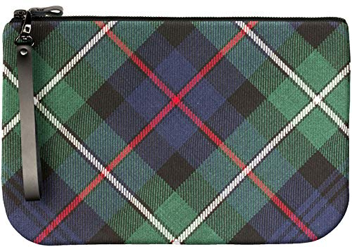 Fit Medium Large Enough to an With iPad Clutch Tartan MacKenzie Bag Leather wxUwrR